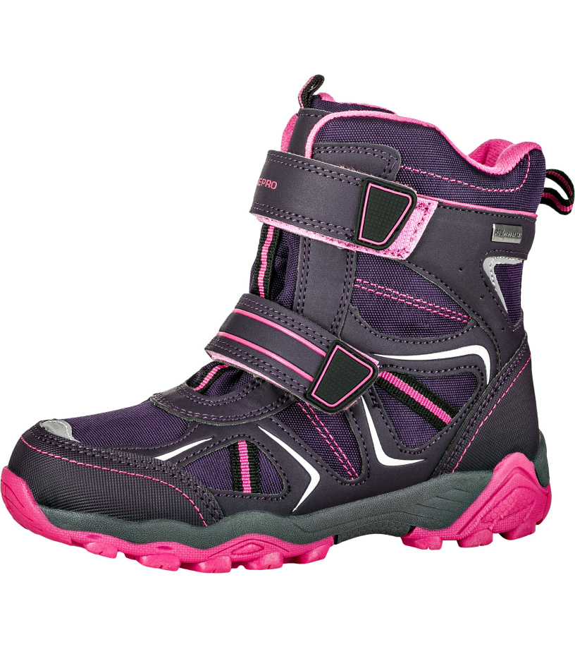 ALPINE PRO HAYLEY Dětská zimní obuv KBTK154889 amethyst 28 737ebd1828