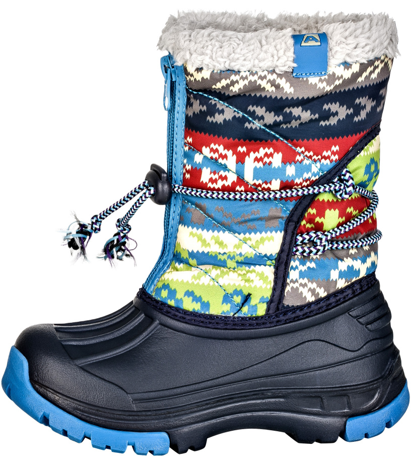 ALPINE PRO KODY Dětská zimní obuv KBTK155602 mood indigo 30