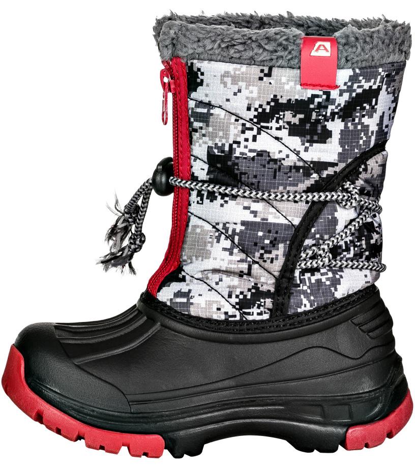 ALPINE PRO KODY Dětská zimní obuv KBTK155990 černá 31
