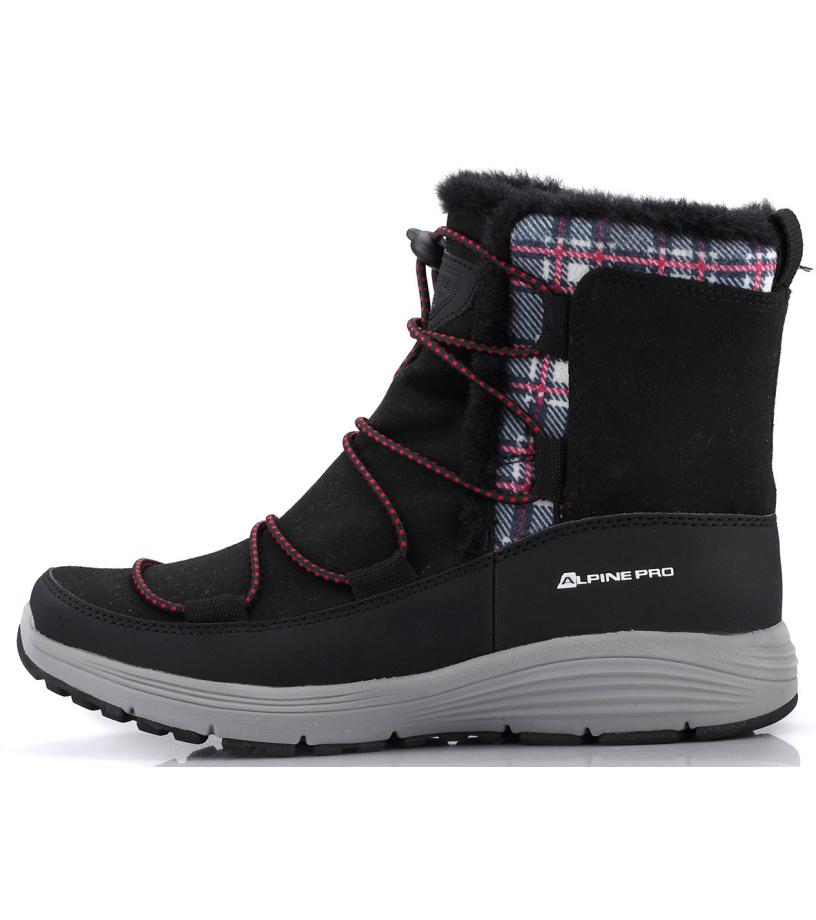 ALPINE PRO DARLEEN Dámská zimní obuv LBTK145990 černá
