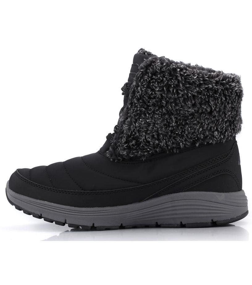 ALPINE PRO BRONTE Dámská zimní obuv LBTK146990 černá