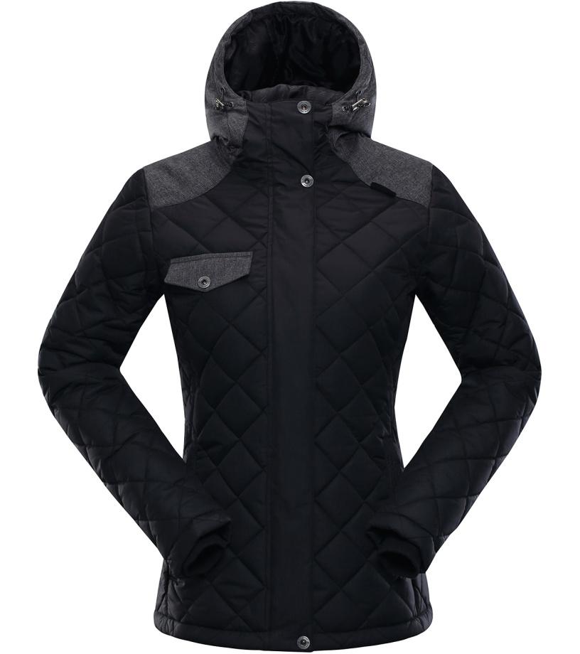 ALPINE PRO GABRIELLA Dámská zimní bunda LJCK180990 černá L-L