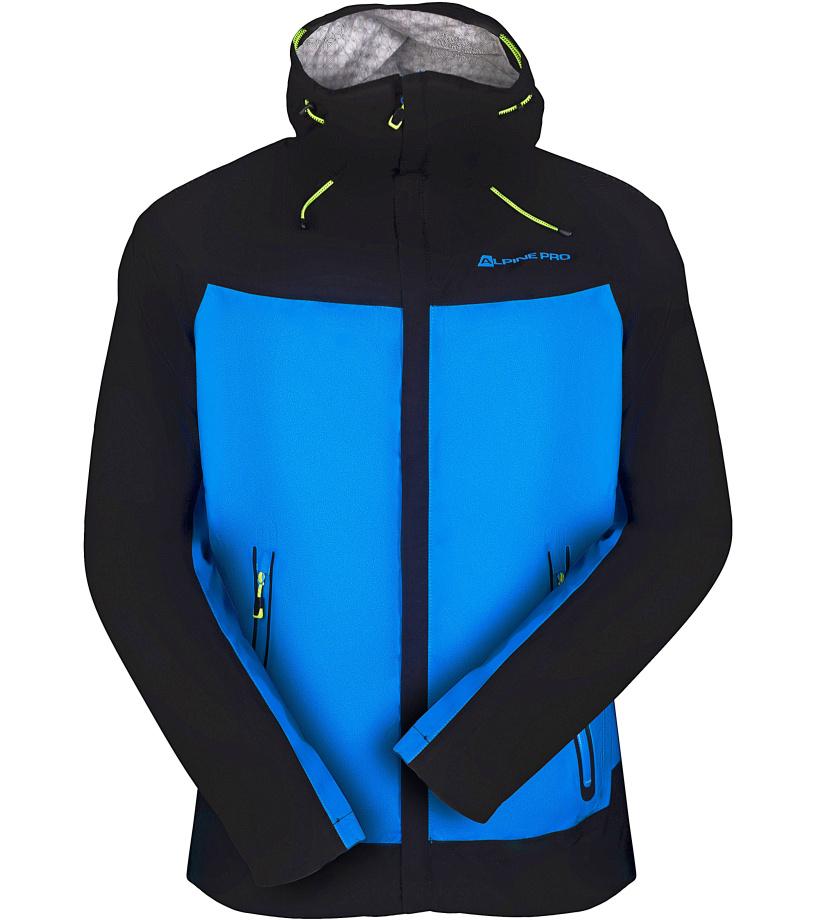 ALPINE PRO SLOCAN 3 Pánská bunda MJCK205674 Blue aster S