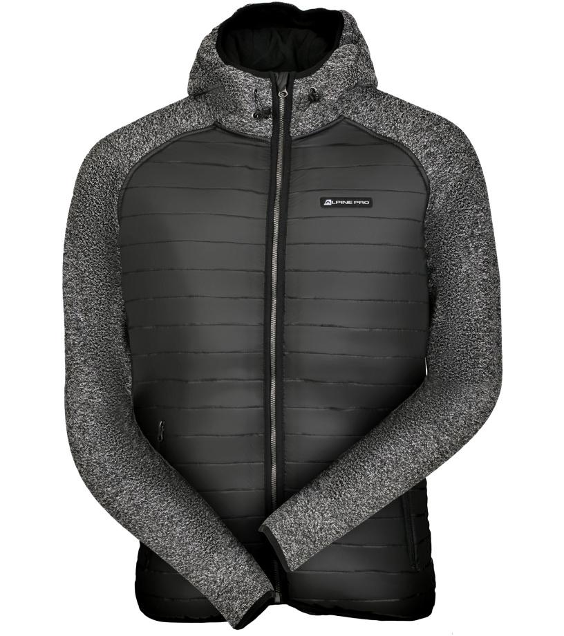 ALPINE PRO NISIF Pánská bunda MJCK223990 černá