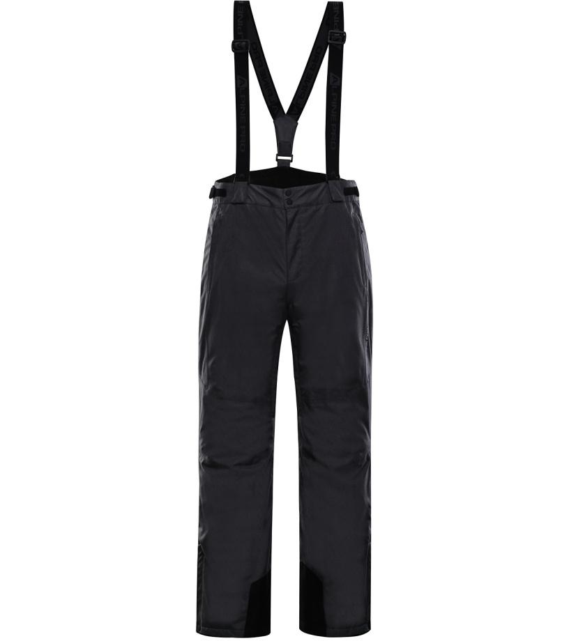 ALPINE PRO SANGO 5 Pánské lyžařské kalhoty MPAK263990 černá