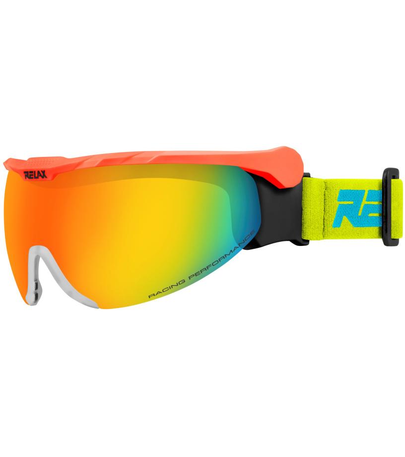 RELAX NORDIC Lyžařské brýle HTG27D oranžová