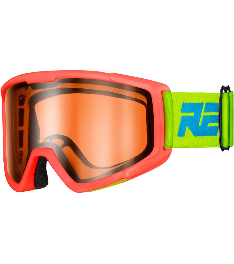RELAX SLIDER Dětské lyžařské brýle HTG30C červená XL