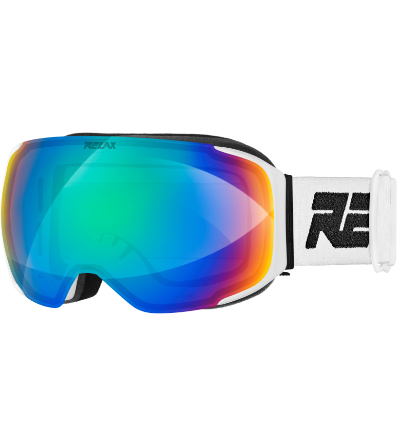 RELAX STREAM Lyžařské brýle HTG44A bílá