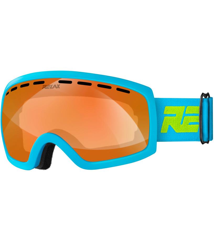 RELAX JET Lyžařské brýle HTG60B žluto modrá