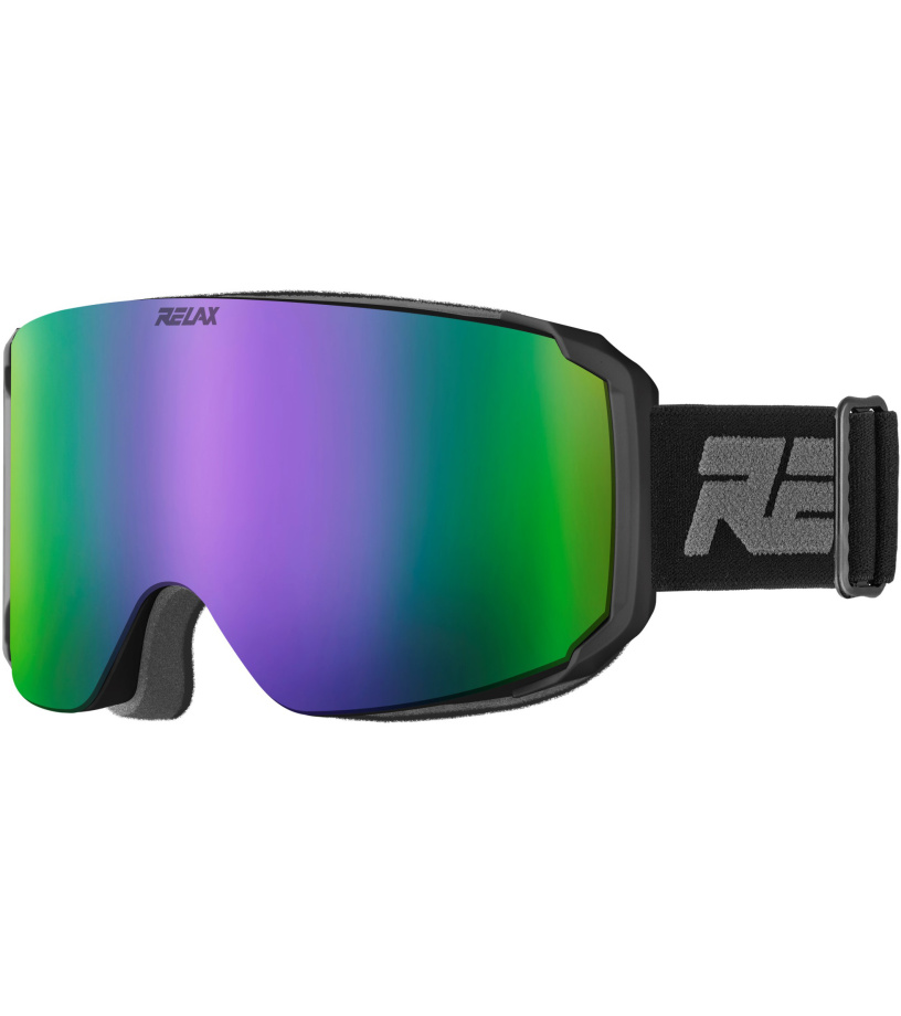 RELAX SQUAD Lyžařské brýle HTG63A černá