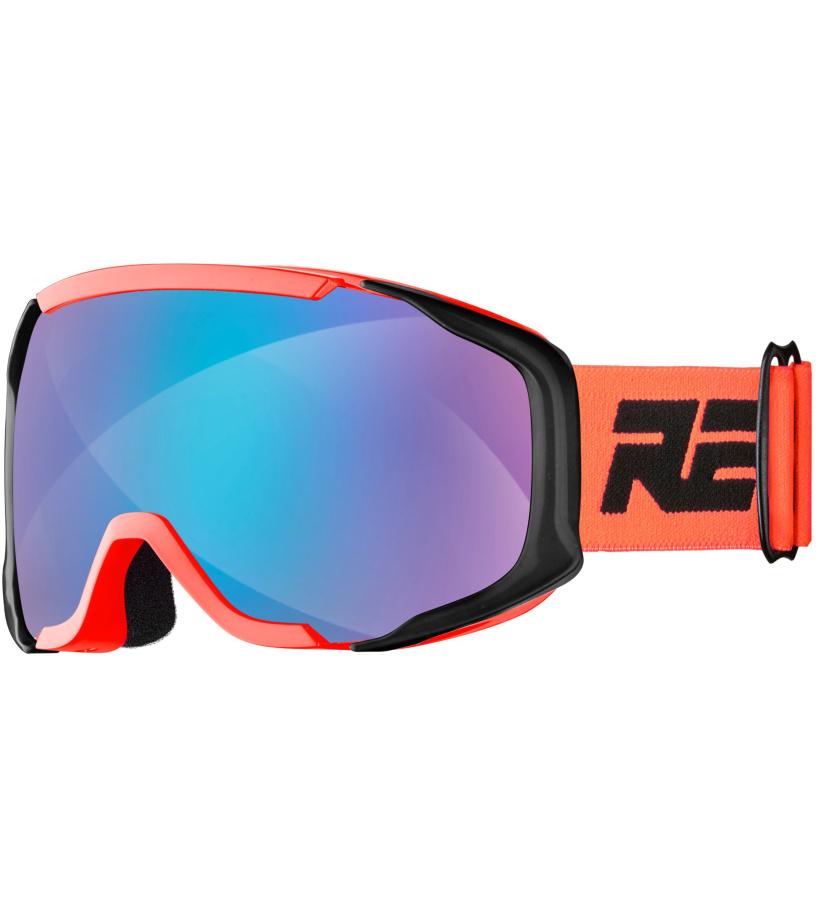 RELAX DE-VIL Lyžařské brýle HTG65B černo oranžová univerzální
