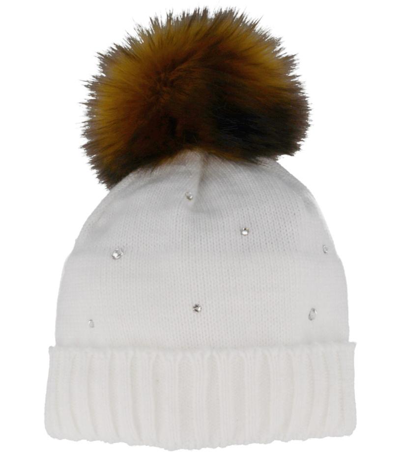 RELAX TWIGGY Zimní čepice RKH162B bílá 2f8231e346