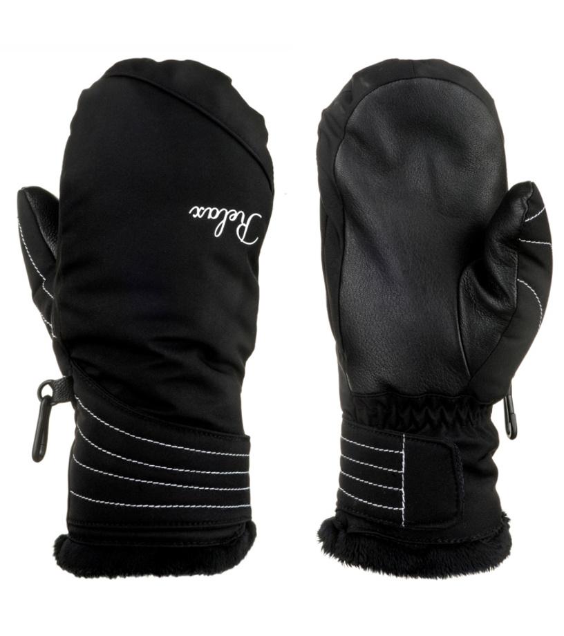 RELAX HEAT Dámské lyžařské rukavice RR18B černo bílá