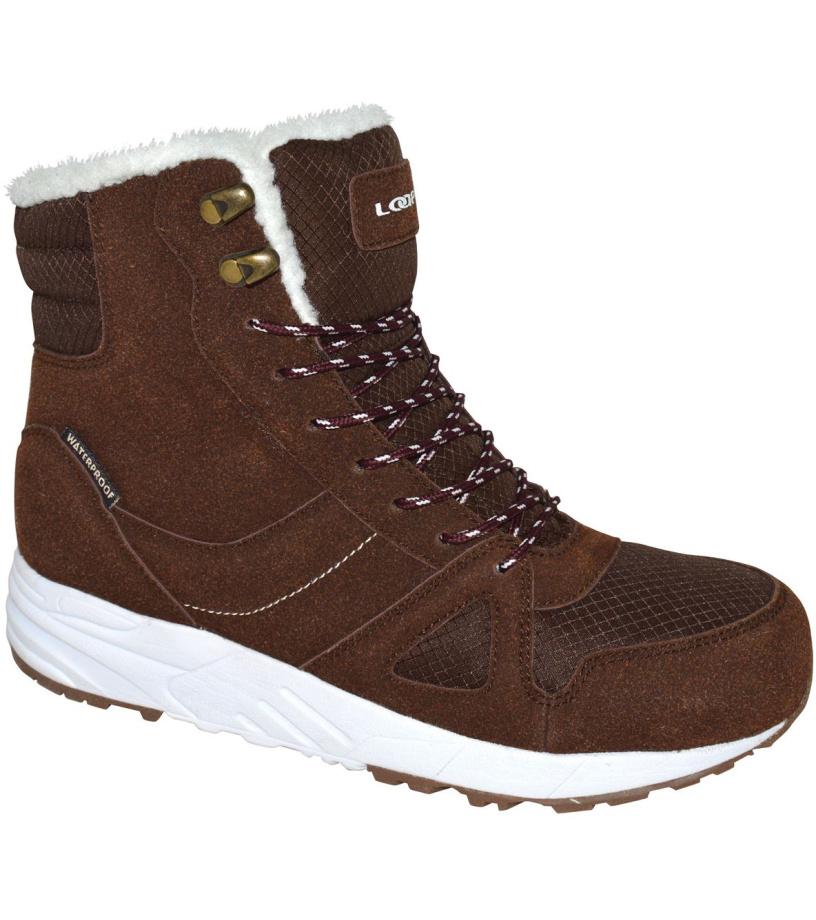 LOAP FLORES Dámská zimní obuv SBL1755R05A hnědá