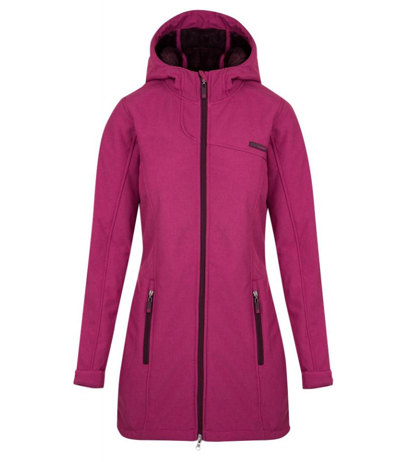 LOAP LAPALUPE Dámský softshellový kabát SFW1713J94X růžová S
