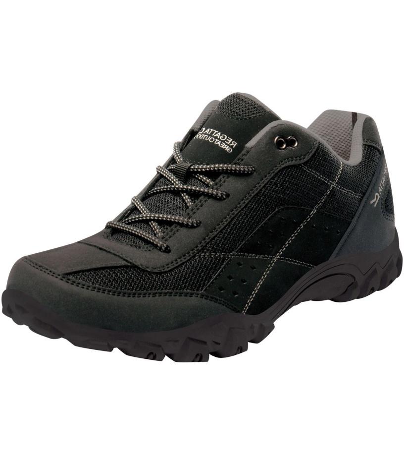REGATTA Stonegate Low Pánská obuv RMF520800 Černá