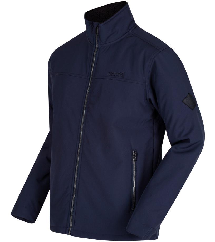 REGATTA Castiel Pánská softshellová bunda RML140540 Modrá L