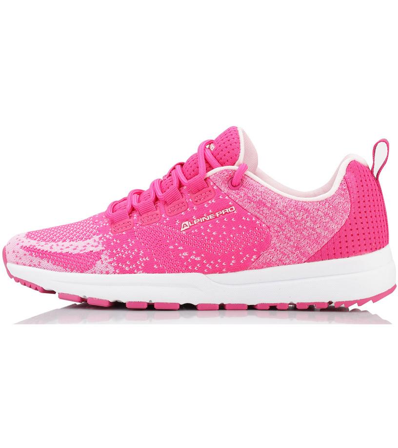 ALPINE PRO LAUREN Uni sportovní obuv UBTL156452 růžová 37