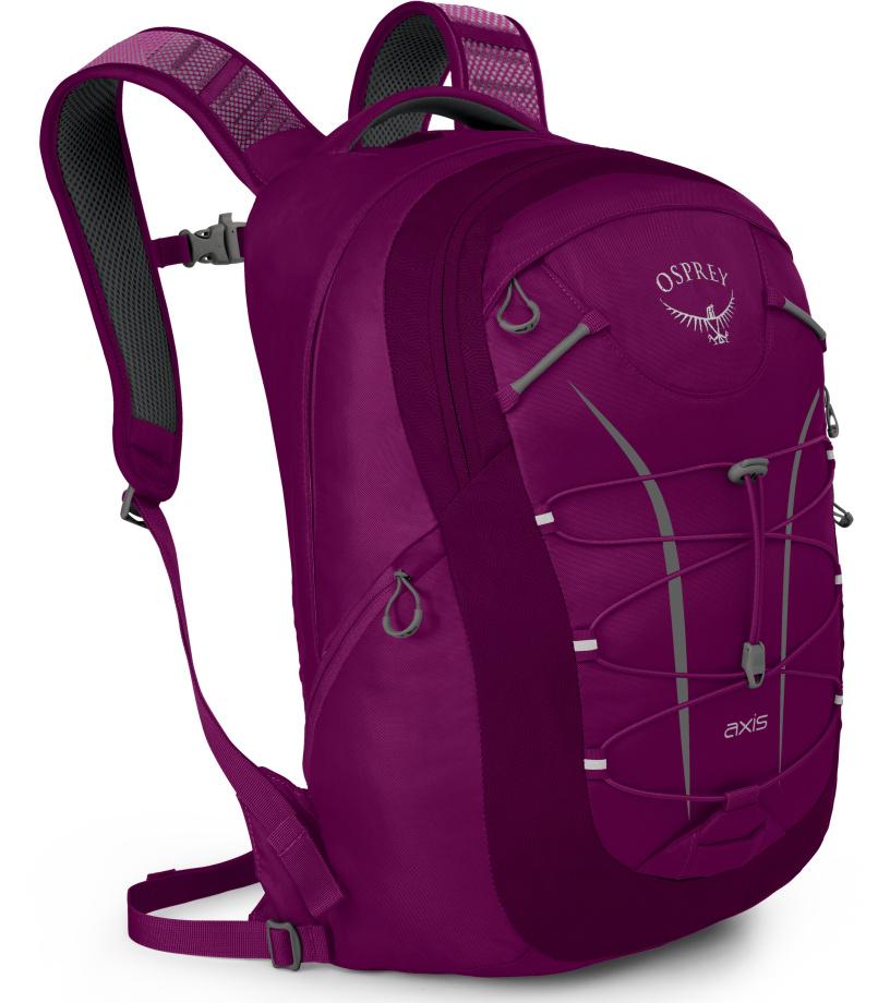 OSPREY Axis 18 II Městský batoh 10001116OSP eggplant purple univerzální