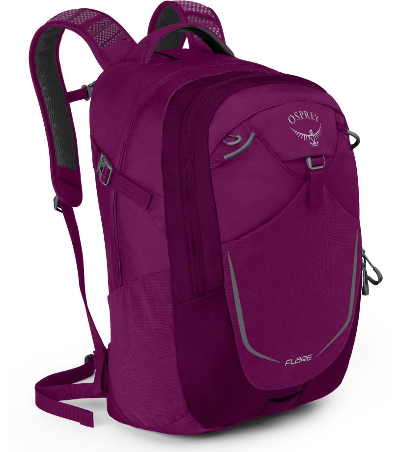 OSPREY Flare 22 II Městský batoh 10001117OSP eggplant purple univerzální