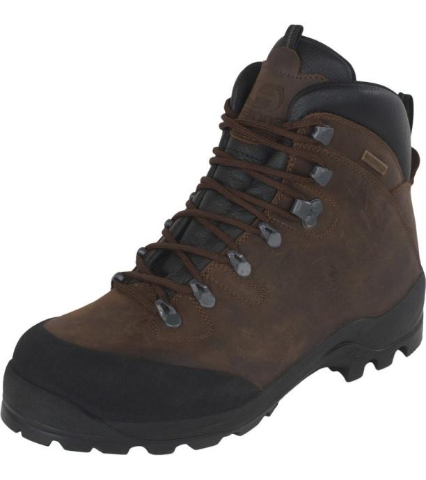 HANNAH Elbrus Pánská treková obuv 217HH0223BT01 Brown 47