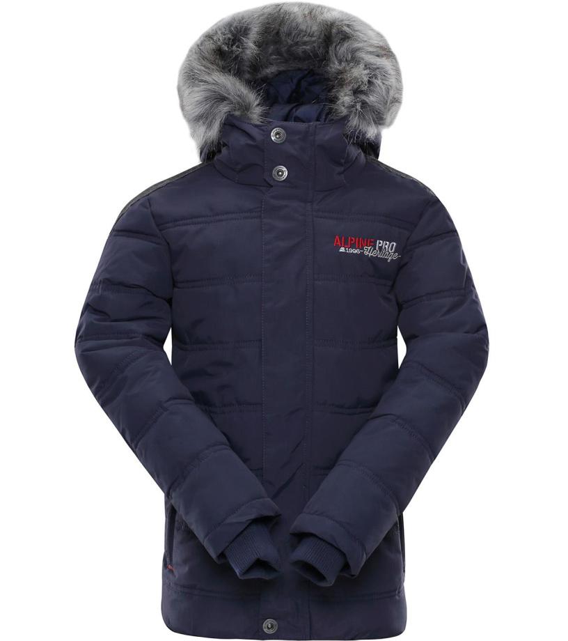 ALPINE PRO ICYBO 2 Dětská zimní bunda KJCM106602 mood indigo