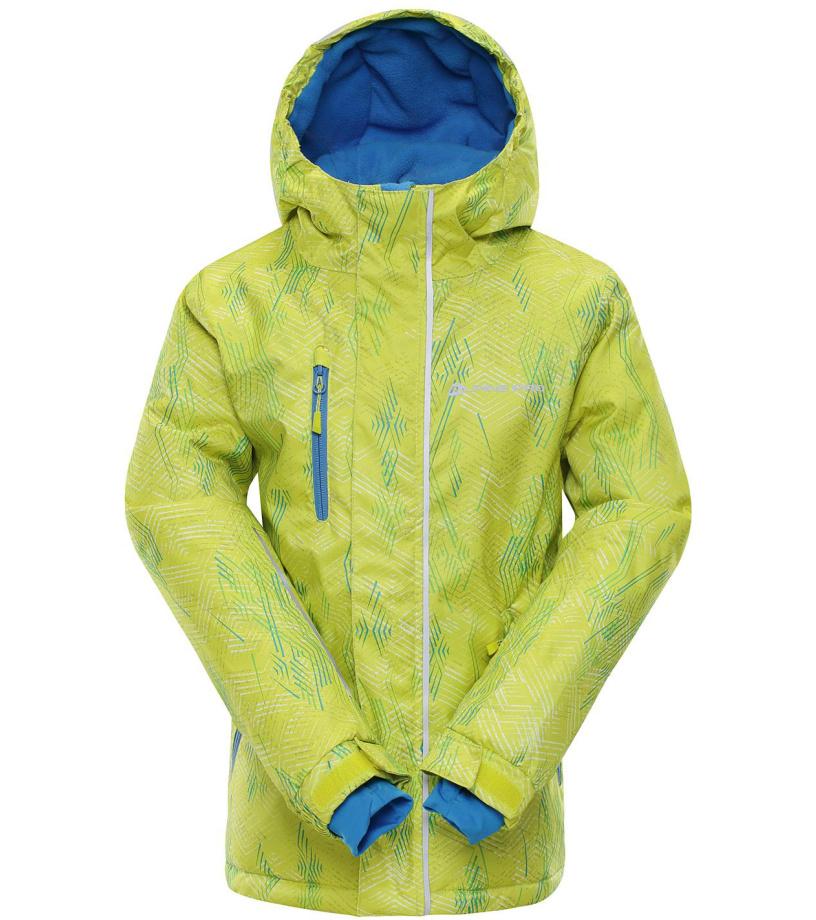 ALPINE PRO AGOSTO 2 Dětská lyžařská bunda KJCM123564 Sulphur spring