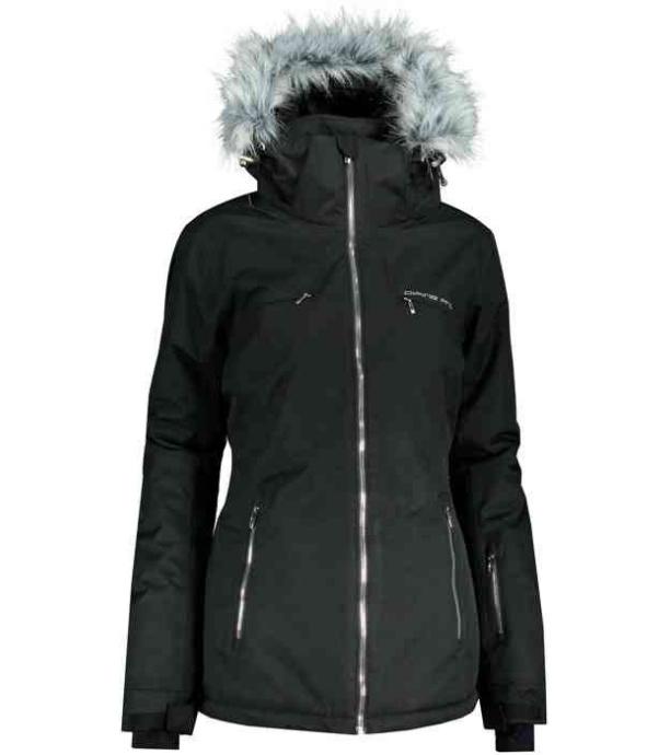 ALPINE PRO PRISLA Dámská lyžařská bunda LJCP386990G černá XL