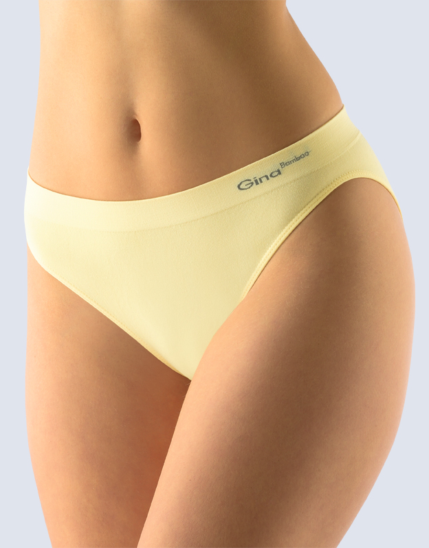 GINA Kalhotky s užším bokem 00018-LBY vanilková L/XL