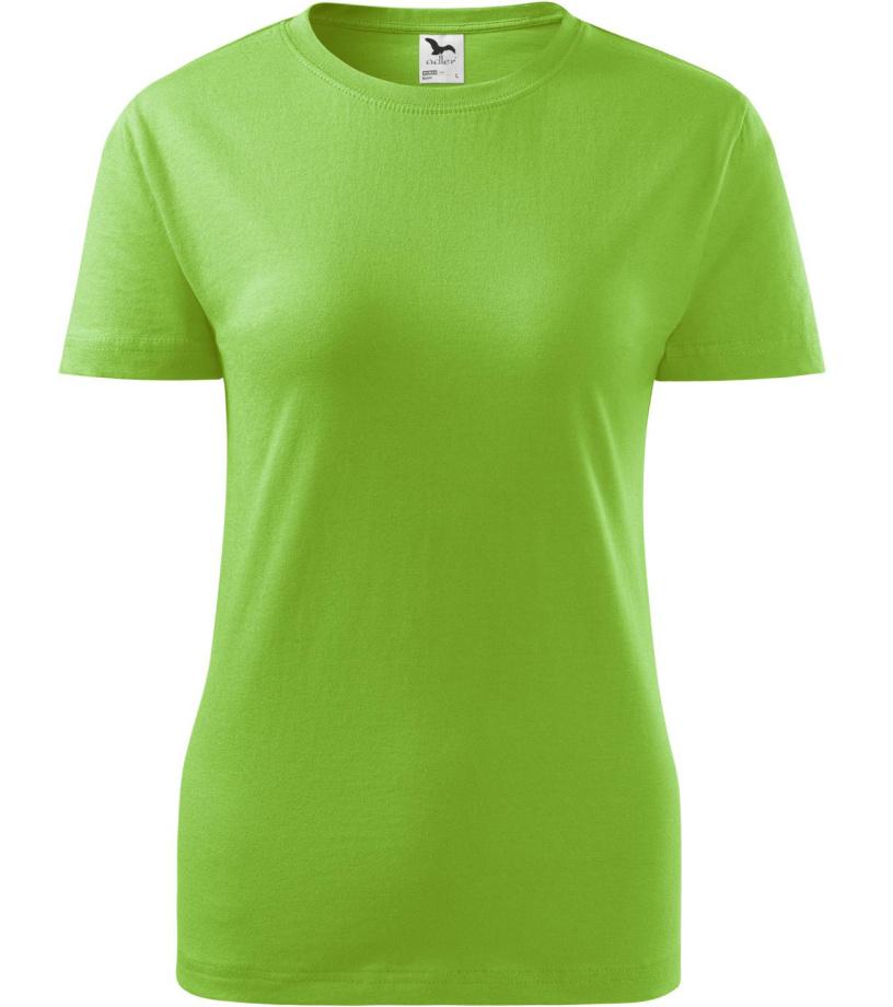ADLER Classic New Dámské triko 13392 zelené jablko S