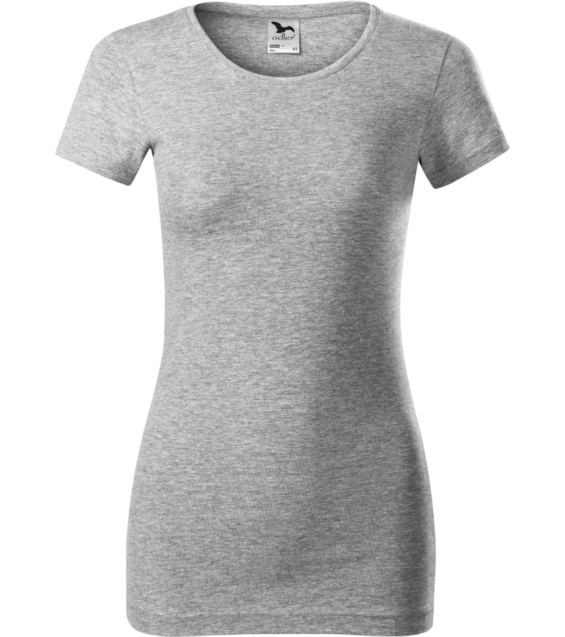 ADLER Glance Dámské tričko 14112 tmavě šedý melír XL