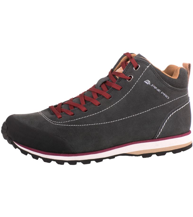 ALPINE PRO ASHAR Unisex obuv outdoor UBTJ114779 tmavě šedá