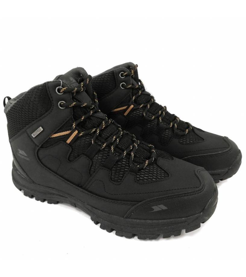 Trespass FINLEY 20 Pánská outdoorová obuv MAFOTEMD0003-BGB BLACK / GOLDEN BROWN 42