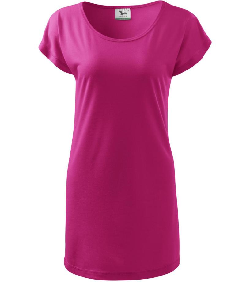 ADLER Love 150 Triko/šaty dámské 12340 purpurová L