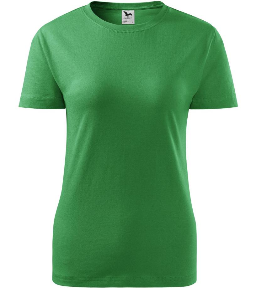 ADLER Basic 160 Dámské triko 13416 středně zelená