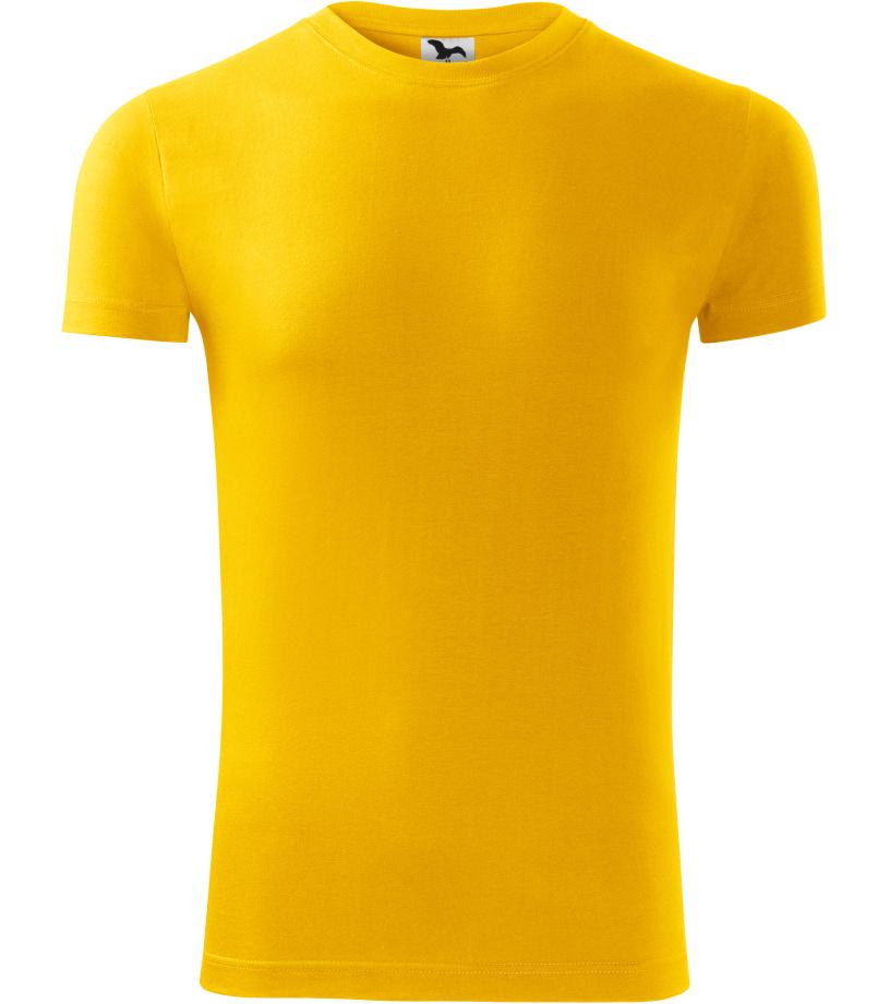 ADLER REPLAY Pánské triko 14304 žlutá XL