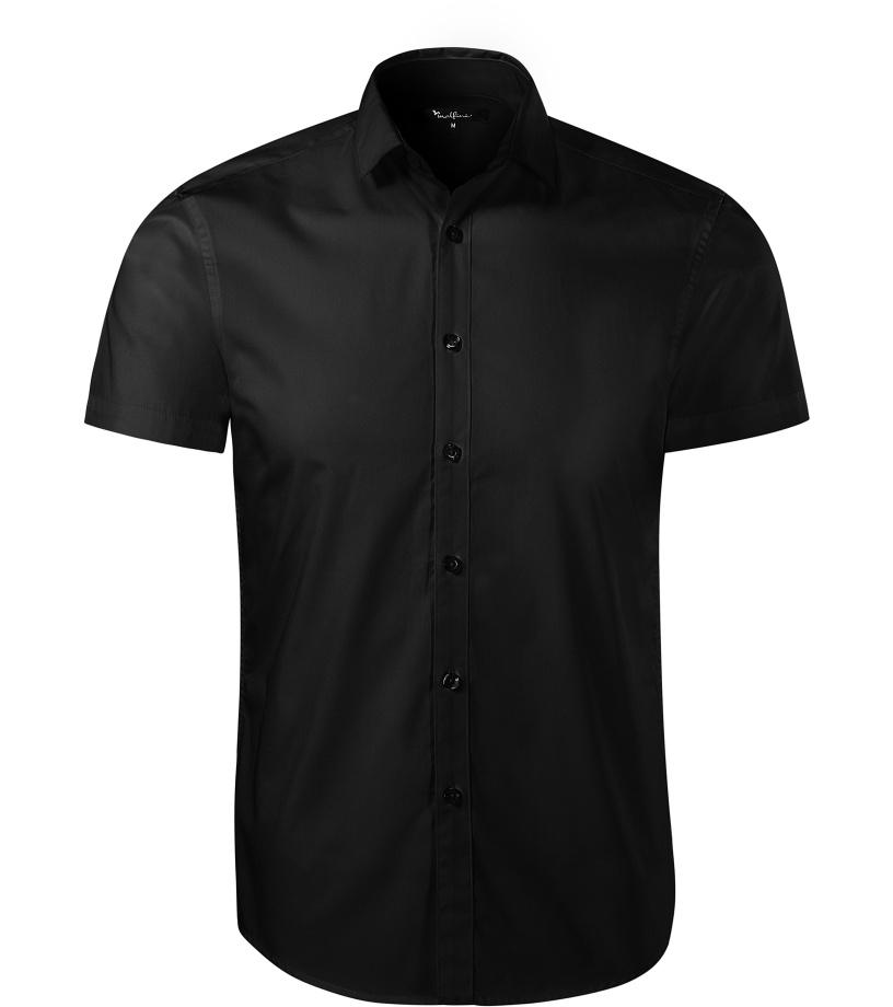 ADLER Flash Pánská košile 26001 černá XL
