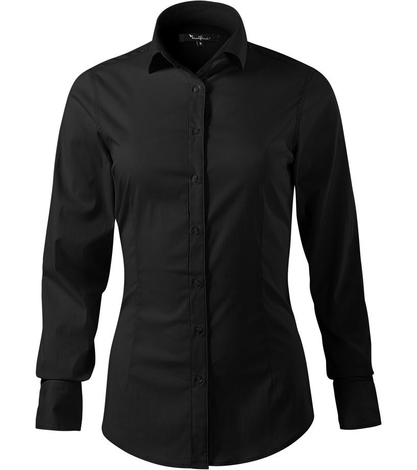 ADLER Dynamic Dámská košile s dlouhým rukávem 26301 černá S