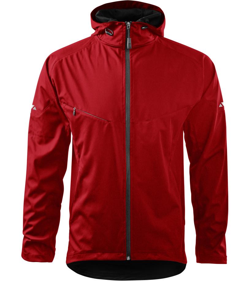 ADLER Cool Pánská softshell bunda 51507 červená