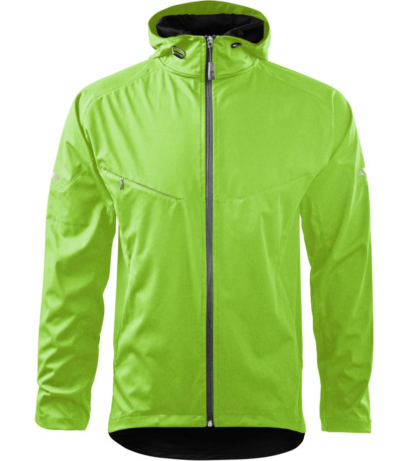 ADLER Cool Pánská softshell bunda 51592 zelené jablko