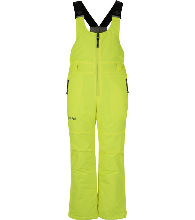 KILPI Chlapecké lyžařské kalhoty DARYL-JB HJ0012KIYEL Žlutá 134