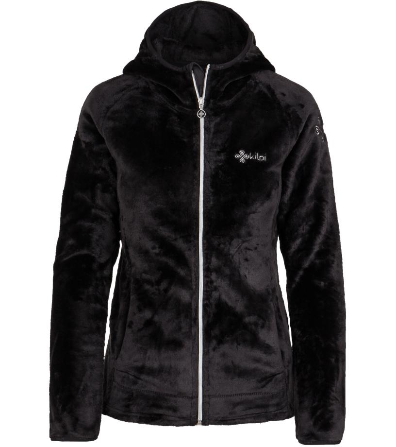 KILPI Dámská fleece mikina ARLES-W HL0051KIBLK Černá 42 959015bbeb