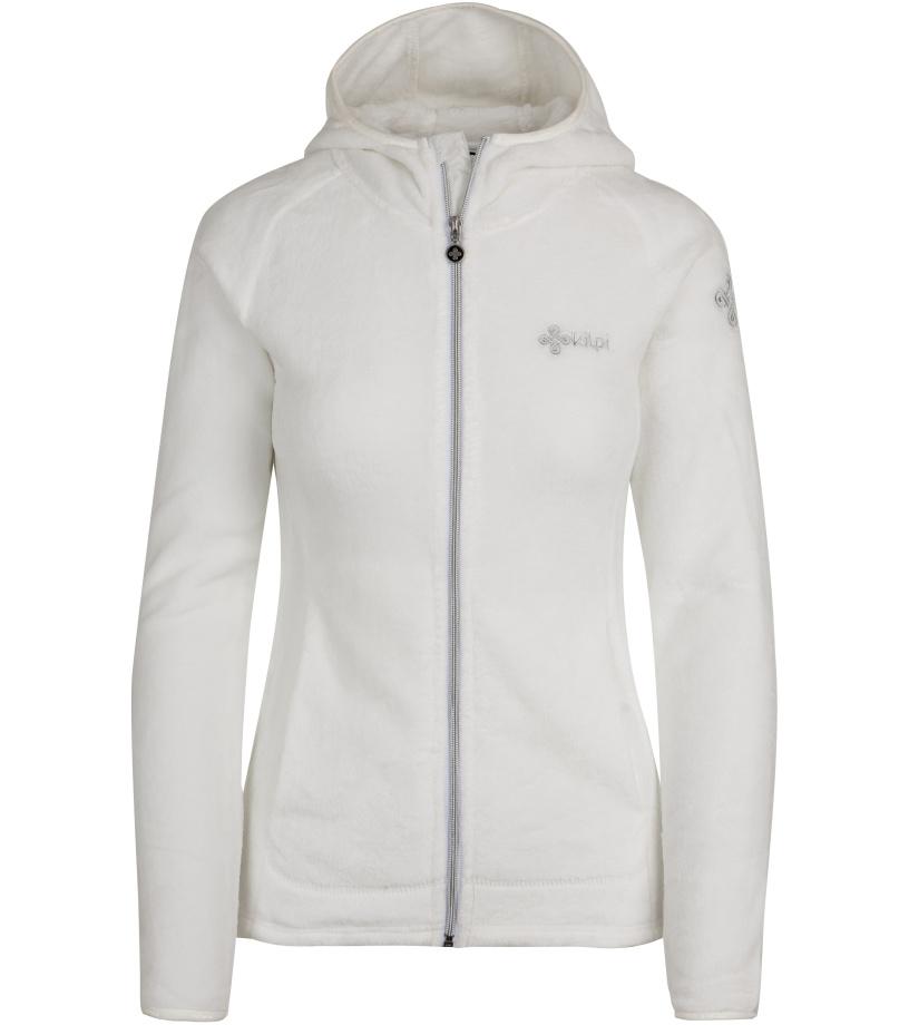 KILPI Dámská fleece mikina ARLES-W HL0051KIWHT Bílá