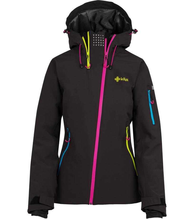 KILPI Dámská lyžařská bunda ASIMETRIX-W HL0197KIBLK Černá