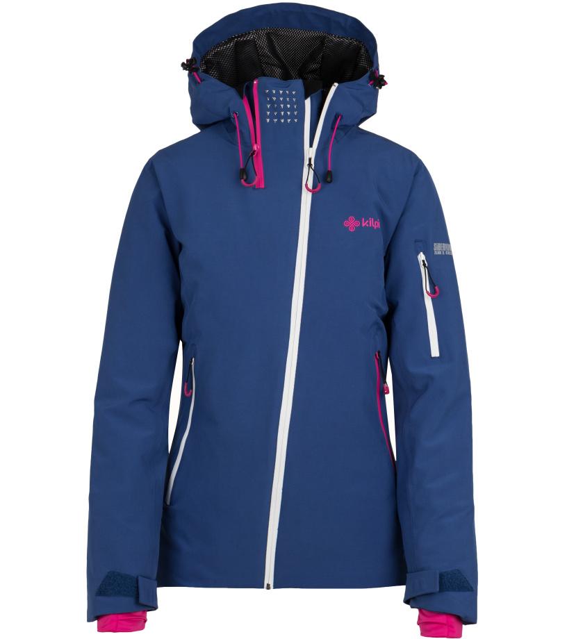 KILPI Dámská lyžařská bunda ASIMETRIX-W HL0197KIDBL Tmavě modrá
