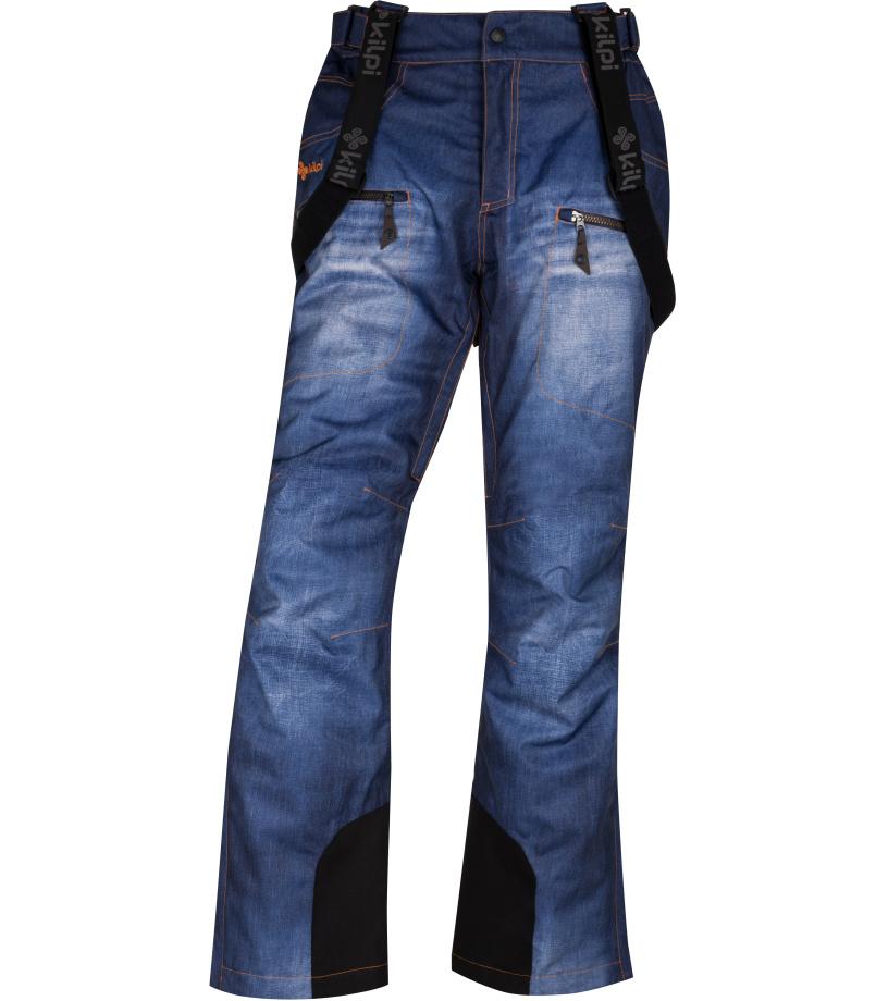 KILPI Pánské lyžařské kalhoty JEANSTER-M HM0028KIBLU Modrá XL