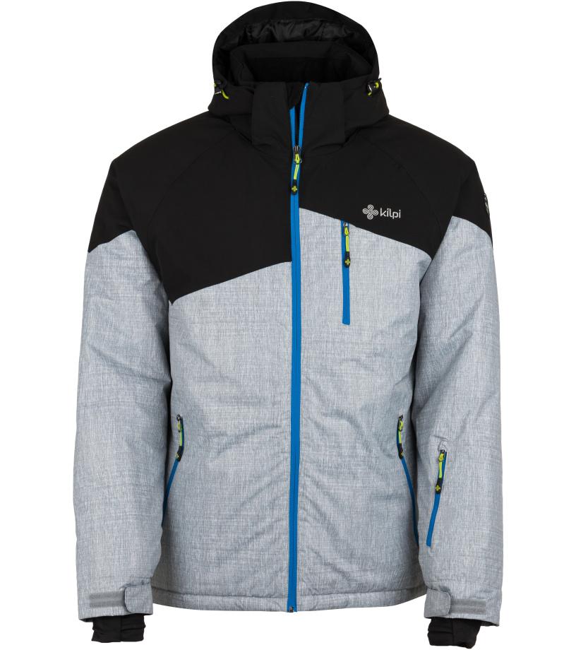 KILPI Pánská lyžařská bunda OLIVER-M HM0076KILGY Šedá