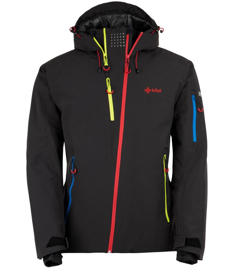 KILPI Pánská lyžařská bunda ASIMETRIX-M HM0120KIBLK Černá