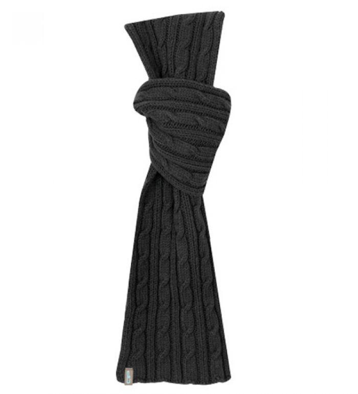 ALPINE PRO Pletená šála 7901990 černá UNI