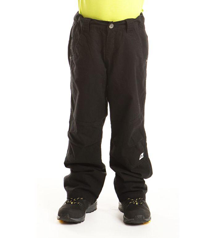 ALPINE PRO OTTOBRINO Dětské zateplené kalhoty KPAB005990PA černá 140-146